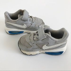 Nike Air Max Gray Baby Shoes Size 4C
